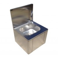 Stainless Steel Knee Operated Hand Wash Basin Sink | Easy ...