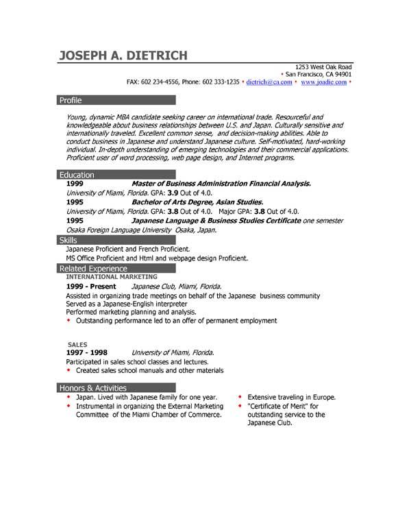 Sample Resume Tourist Guide - Tour Guide Resume