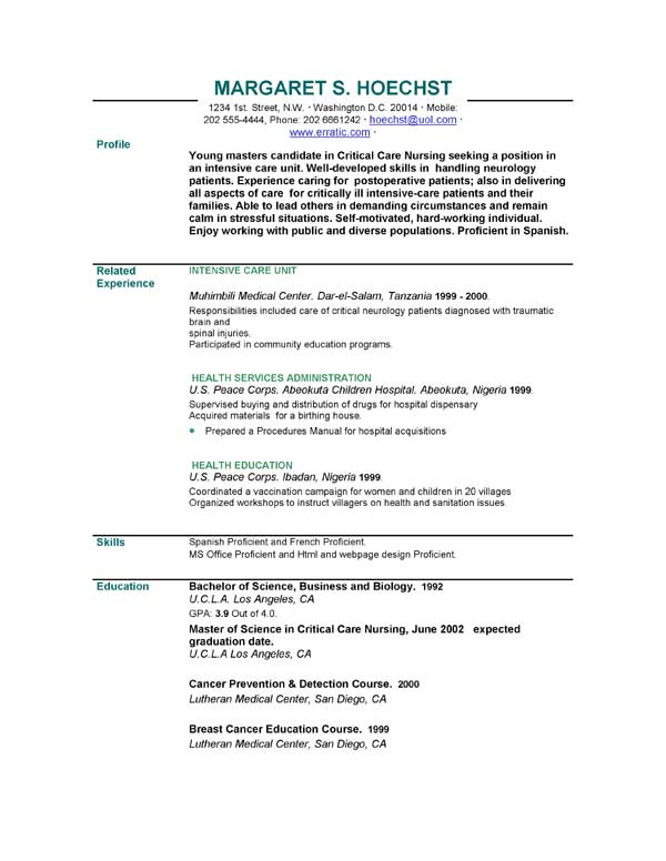 Resume Templates 25,000 Resume Templates To Choose From EasyJob - How To Write Out A Resume
