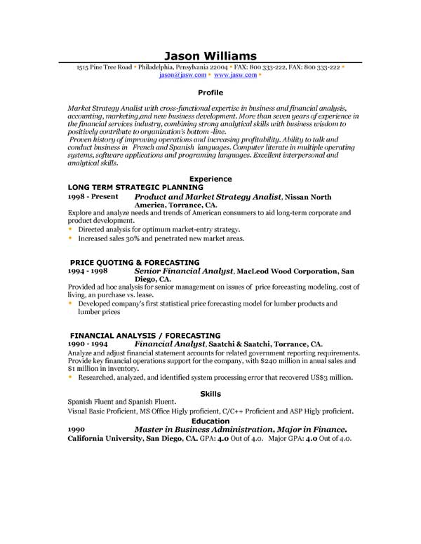 free resume samples download want to have a new job have you written a resume to