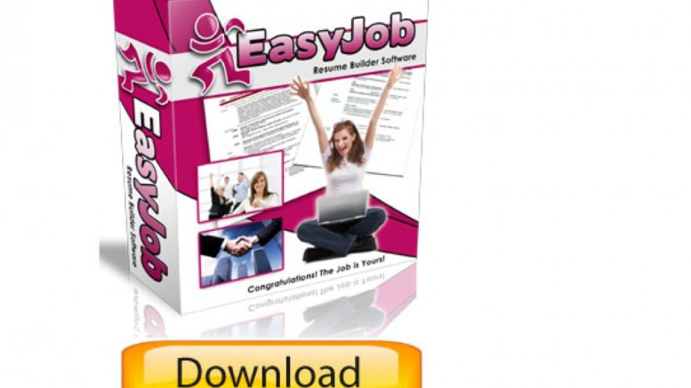 Resume Builder EasyJob FREE Resume Builder Program Demo The Best
