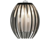 Oaks Lighting 'Shimna' 1 Light Touch Table Lamp, Plum ...
