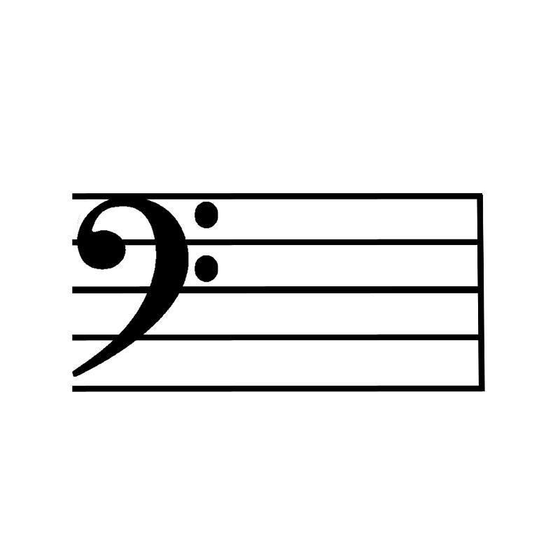 Galante, Joseph / Key Signatures Bass Clef - base cleff
