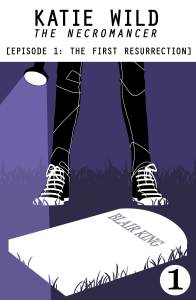 Cover of Katie Wild--The Necromancer book