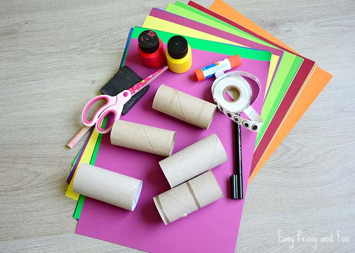 Toilet Paper Roll Octopus Craft Easy Peasy And Fun