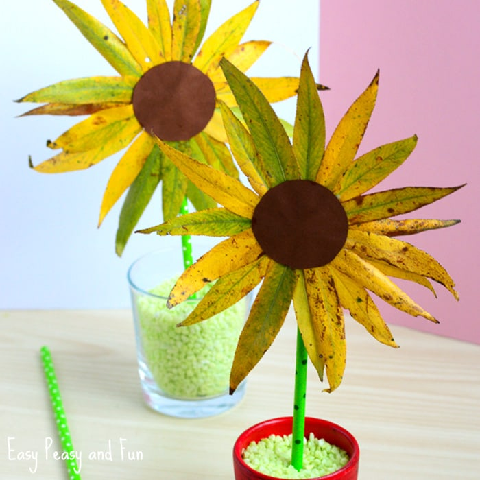 25+ Wonderful Flower Crafts Ideas for Kids and Parents to Make