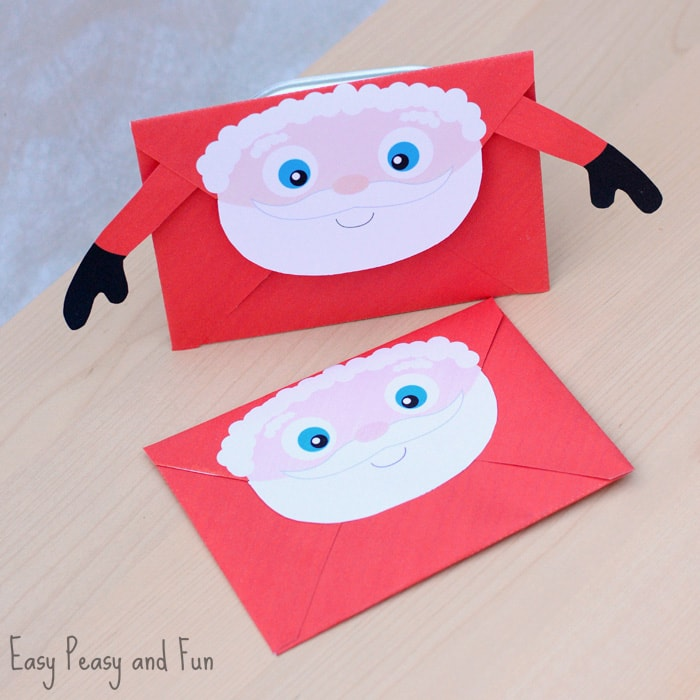 Printable Christmas Envelopes - Easy Peasy and Fun