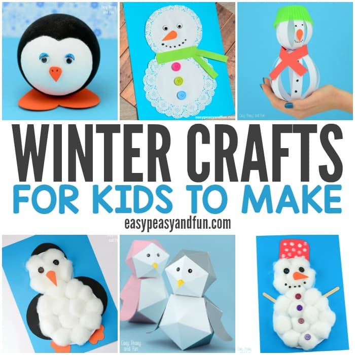 Winter Crafts for Kids to Make - Fun Art and Craft Ideas for All