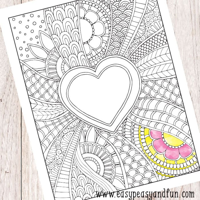 Coloring Pages -100+ Coloring Sheets for the Whole Family - Easy