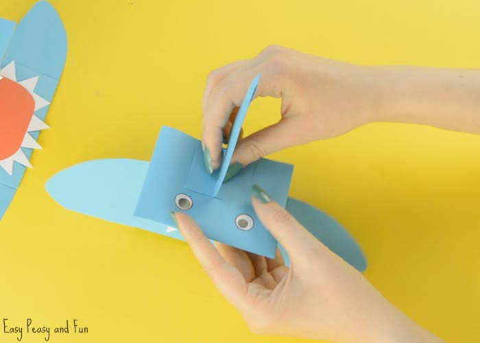 Shark Paper Hand Puppet Easy Peasy And Fun