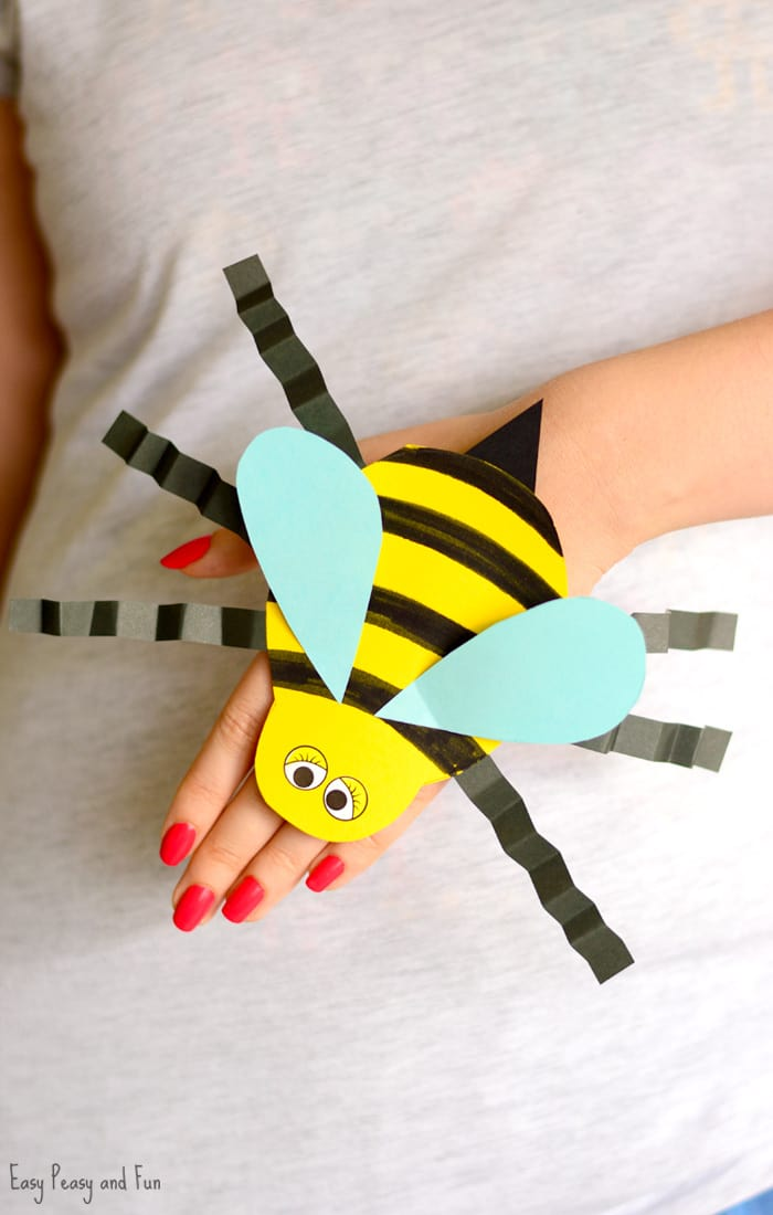 Printable Bug Puppets - Easy Peasy and Fun