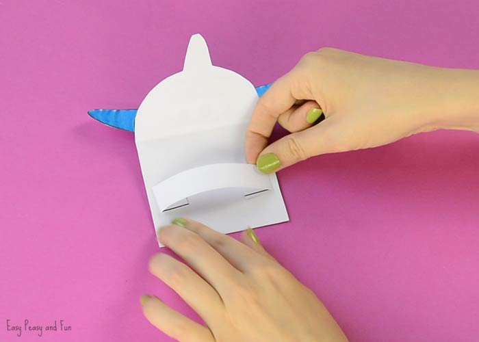 Printable Shark Puppet - Easy Peasy and Fun