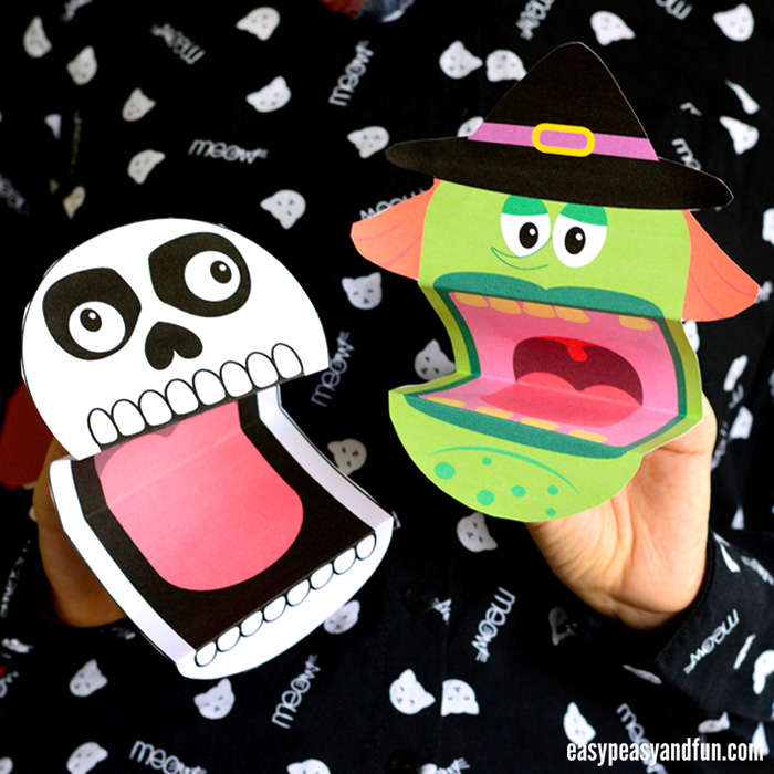 25+ Halloween Crafts for Kids - Art and Craft Tutorials  Ideas