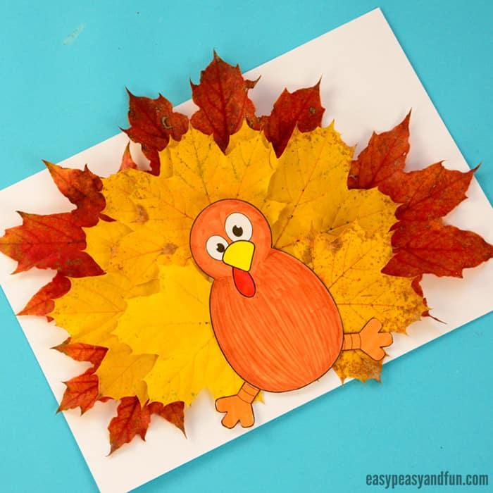 Wonderful Fall Leaf Crafts Ideas - Easy Peasy and Fun