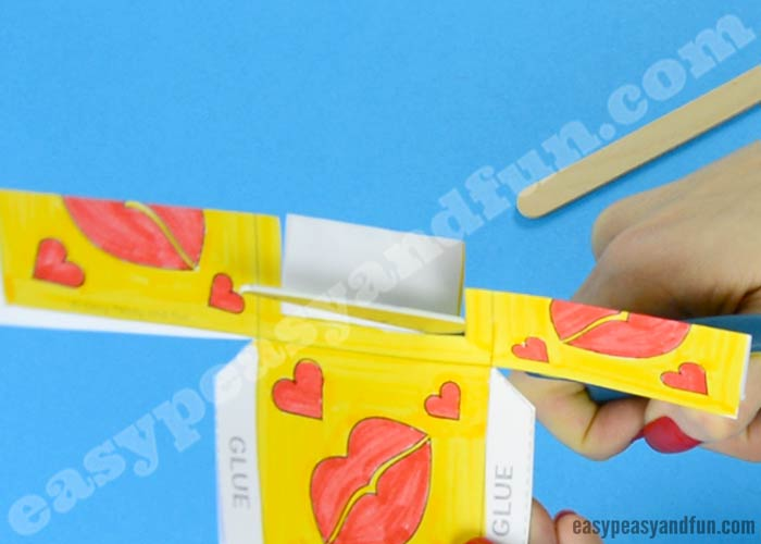 Heart Box Paper Craft - Easy Peasy and Fun
