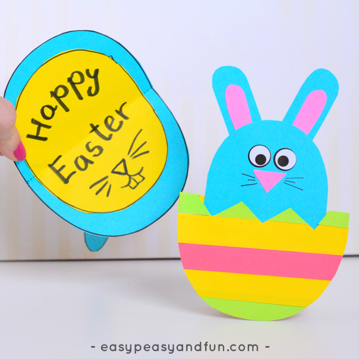 Rocking DIY Easter Cards - Colorize Your Easter Cards - Easy Peasy