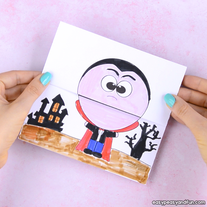 Surprise Big Mouth Vampire Printable - Easy Peasy and Fun
