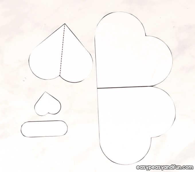 Heart Dog Craft - DIY Valentine\u0027s Day Card Idea - Easy Peasy and Fun