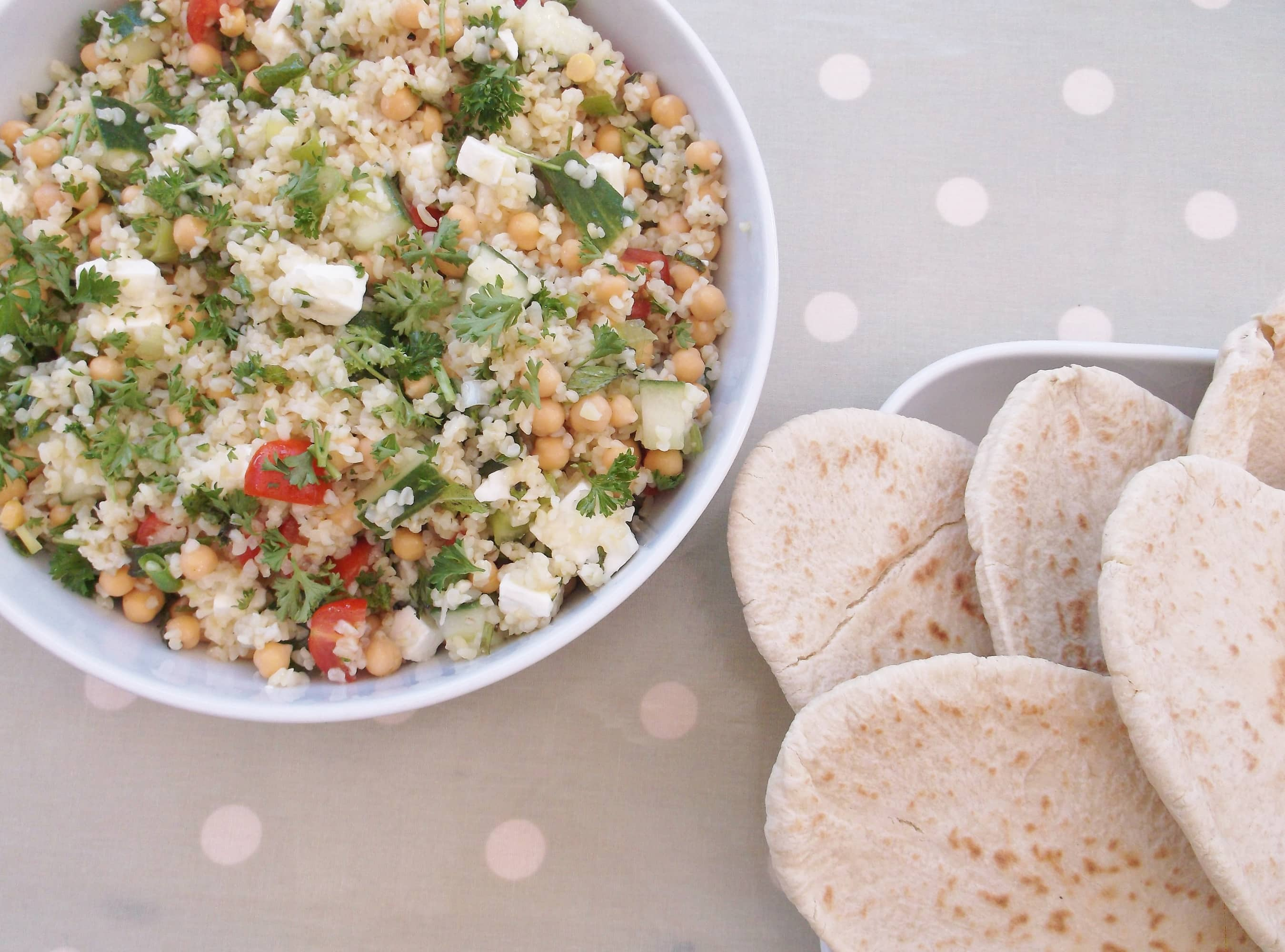 red peppers bulgur salad with dill bulgur salad with chickpeas bulgur ...