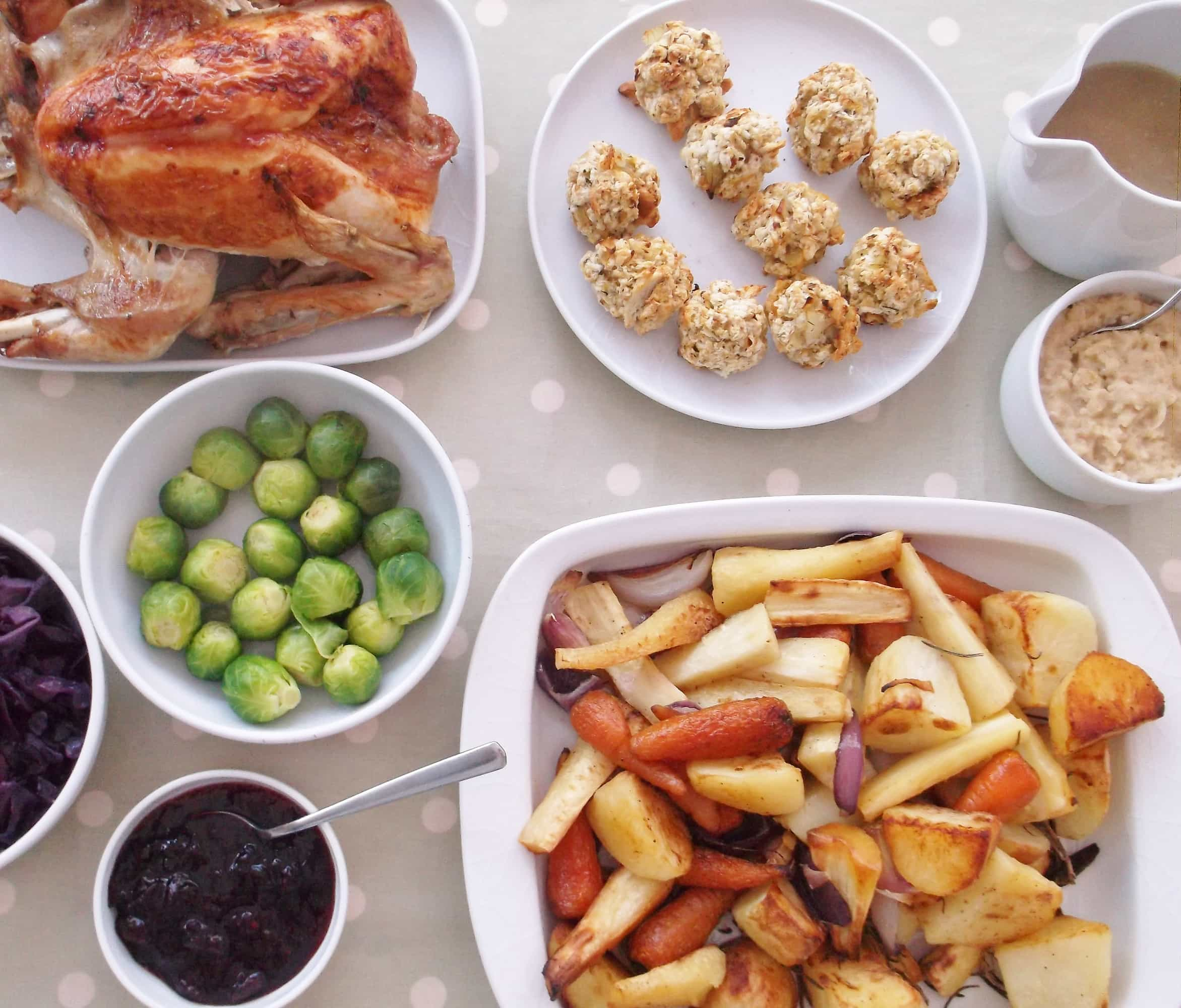 Easy peasy christmas dinner time plan and shopping list easy peasy