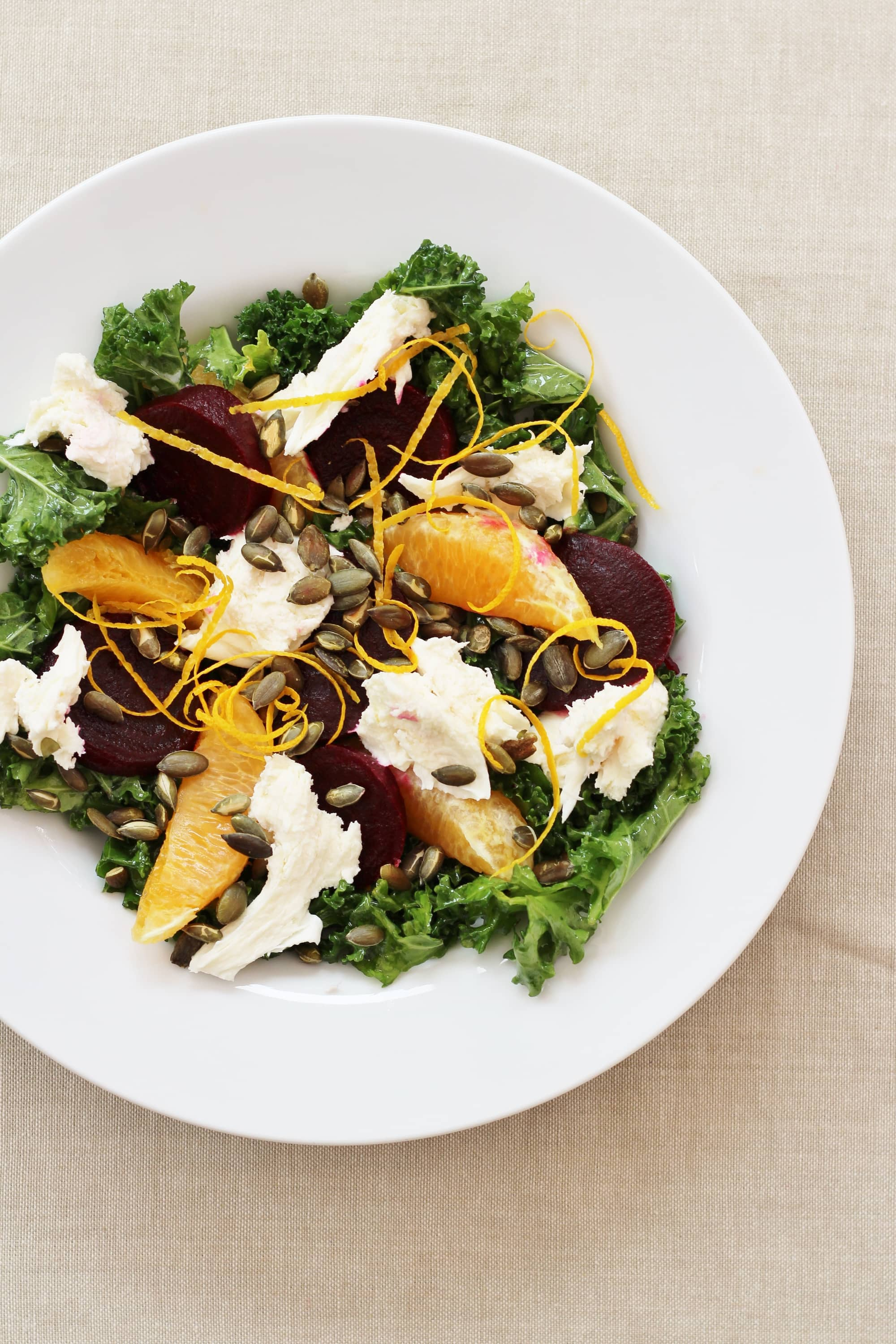 Beetroot, Kale and Orange Salad from Ready Steady Glow by Madeleine ...