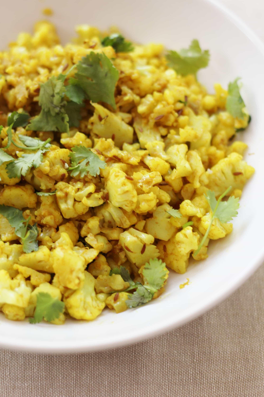 how to make indian cauliflower