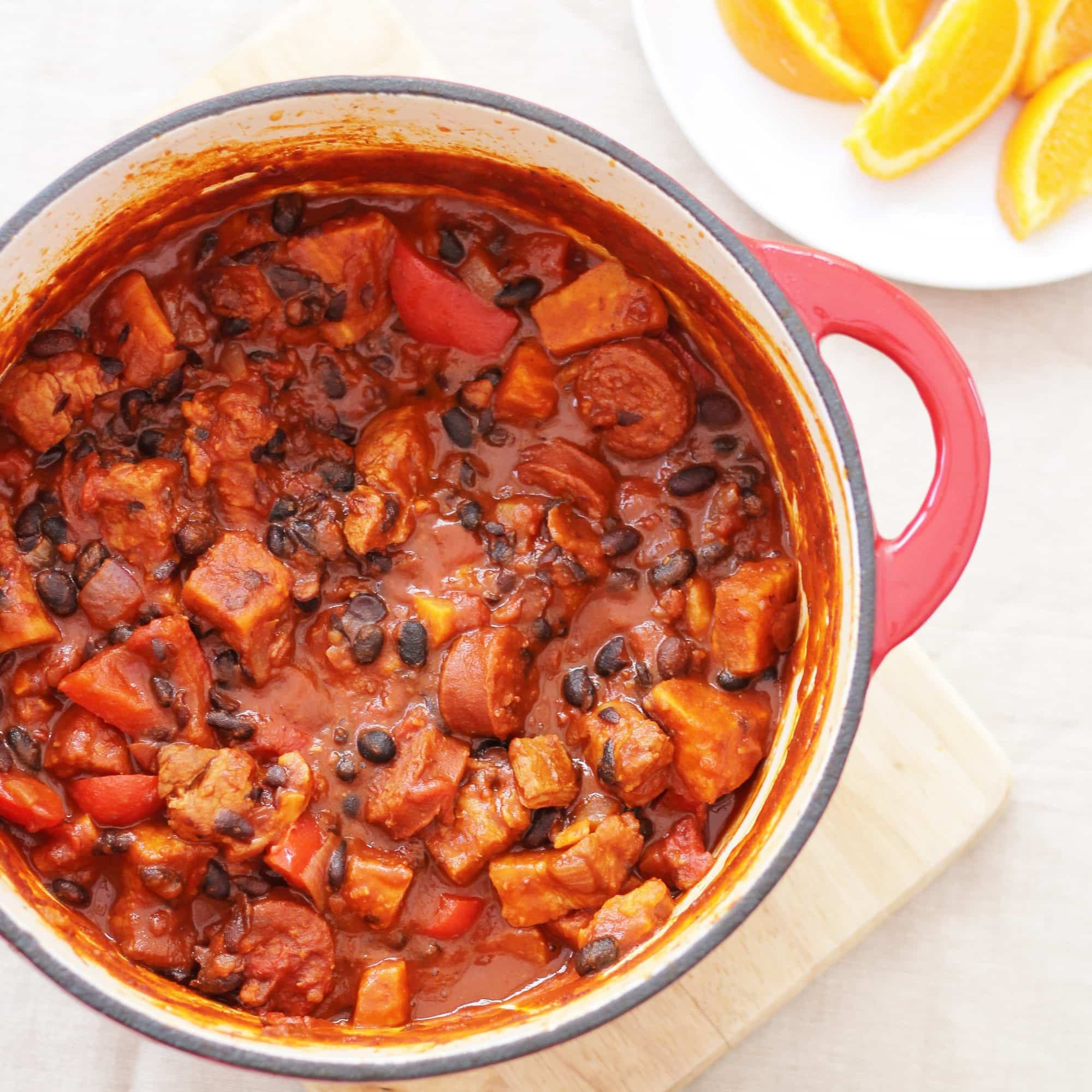 Feijoada (pronounced fey-JWAH-duh, according to the internet), is a ...