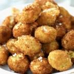 Crispy Stuffed Olive Snacks
