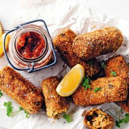 Quinoua Croquettes - Easy Healthy Snacks