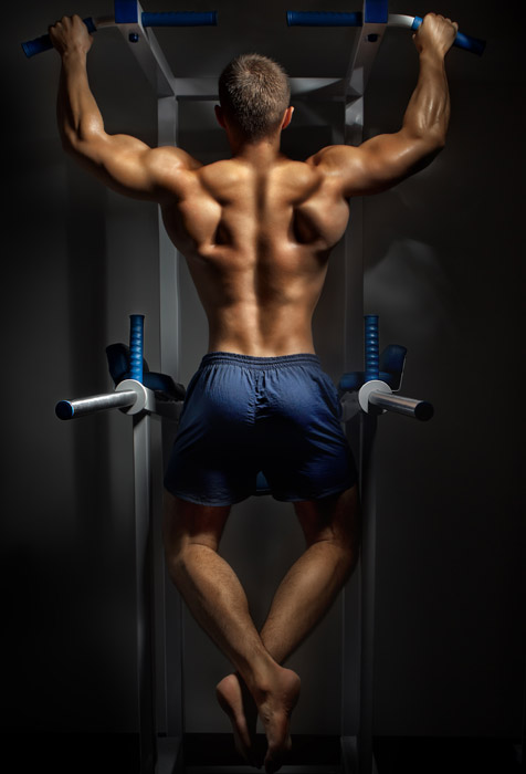 3d Wallpaper For Bedroom Wall India Back Of Young Bodybuilder Wallpaper For Fitness Amp Gym Wall