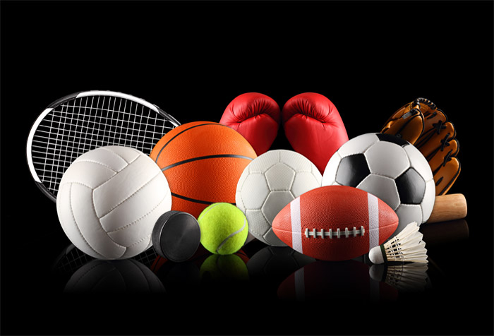 3d Wallpaper For Living Room In India Sports Ball With Racket Wallpaper For Schools Wall Decor