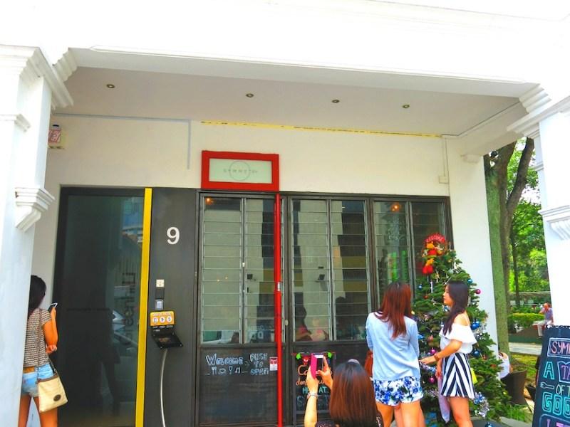 Symmetry front door