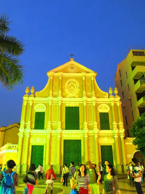 St Dominic's Church in Macau