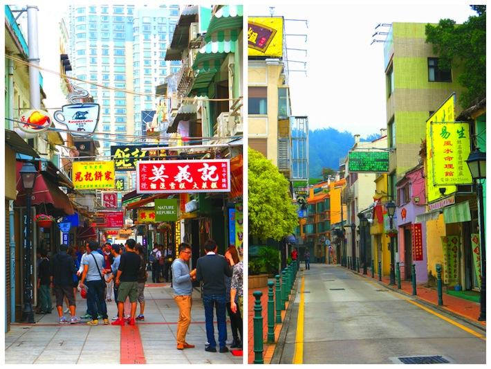 Rua Do Cunha Taipa Village in Macau