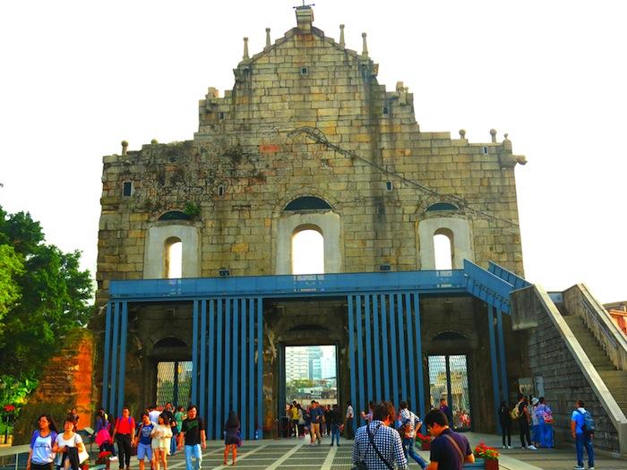 Ruins of St Paul's Back