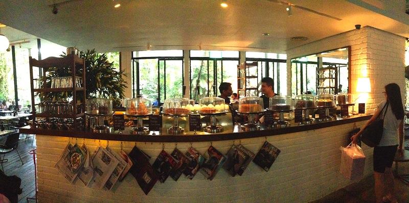 Dessert Bar at PS. Cafe Dempsey