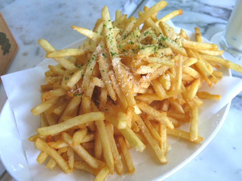 Truffle Shoestring Fries at PS. Cafe Dempsey Hill