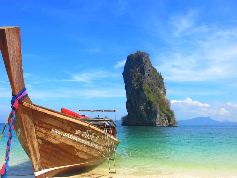 Andaman Camp and Cruises Longtail Boat