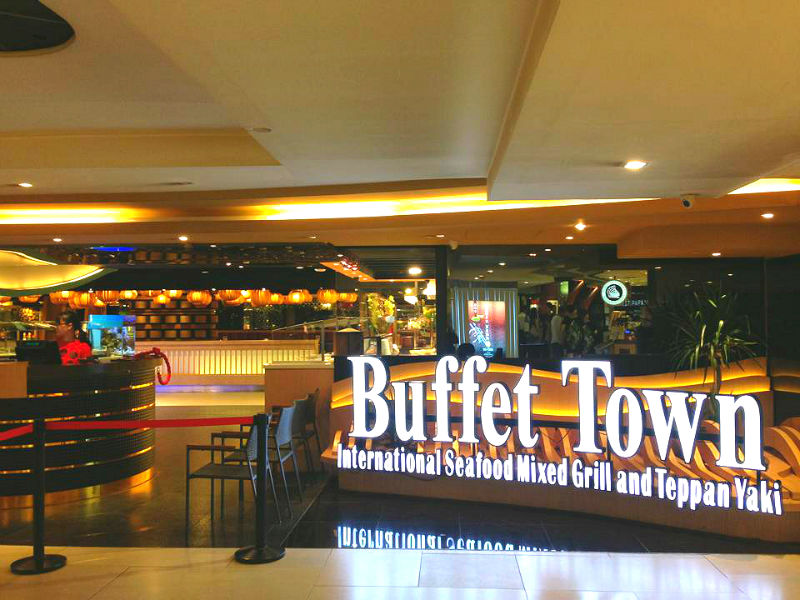Buffet Town at Raffles City