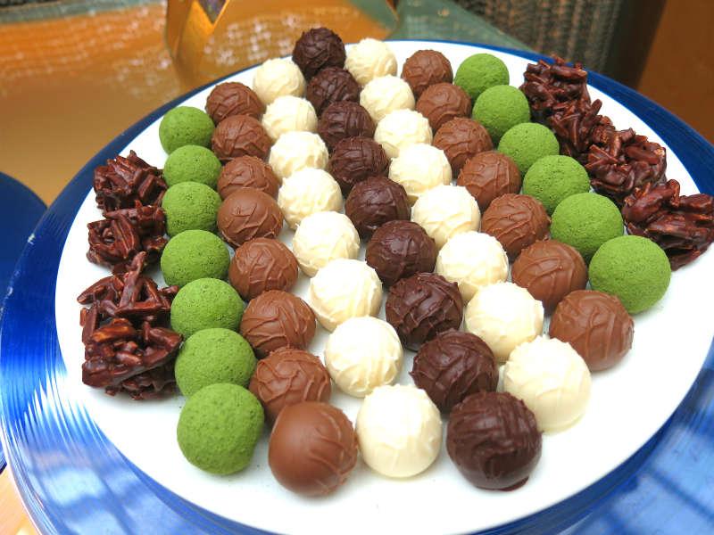 Greenhouse Buffet Chocolate Pralines