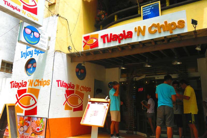 Restaurant Front of Tilapia N Chips