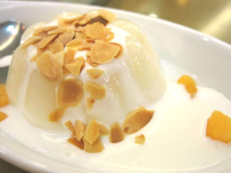 Resort Seafood Genting Highlands Almond Pudding