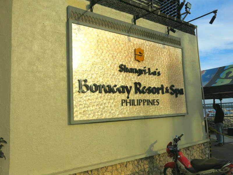 Shangri La Boracay Resort and Spa Mabuhay Centre Logo