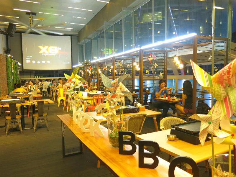 K Cook Korean BBQ Buffet ambience