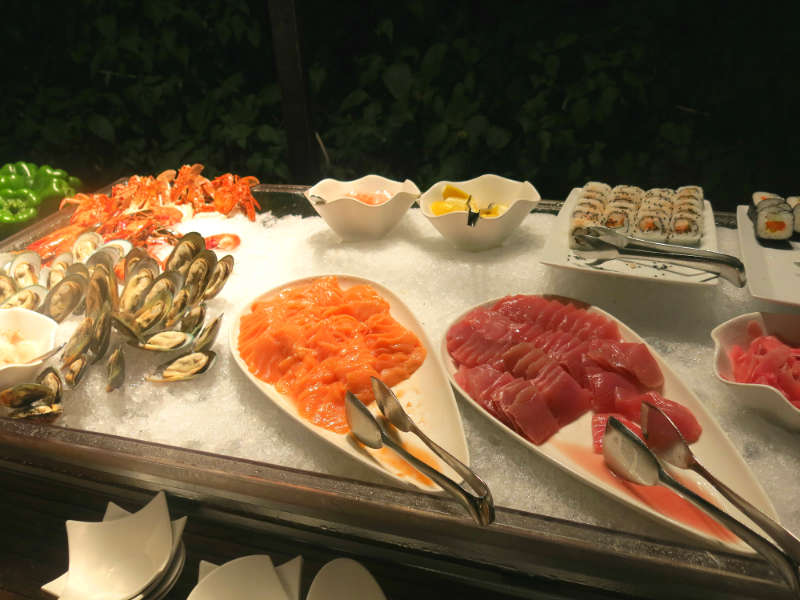 Shangri La Boracay Seafood Buffet