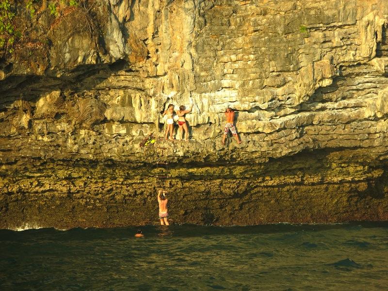 Krabi Sunset Cruises Rock Climbing