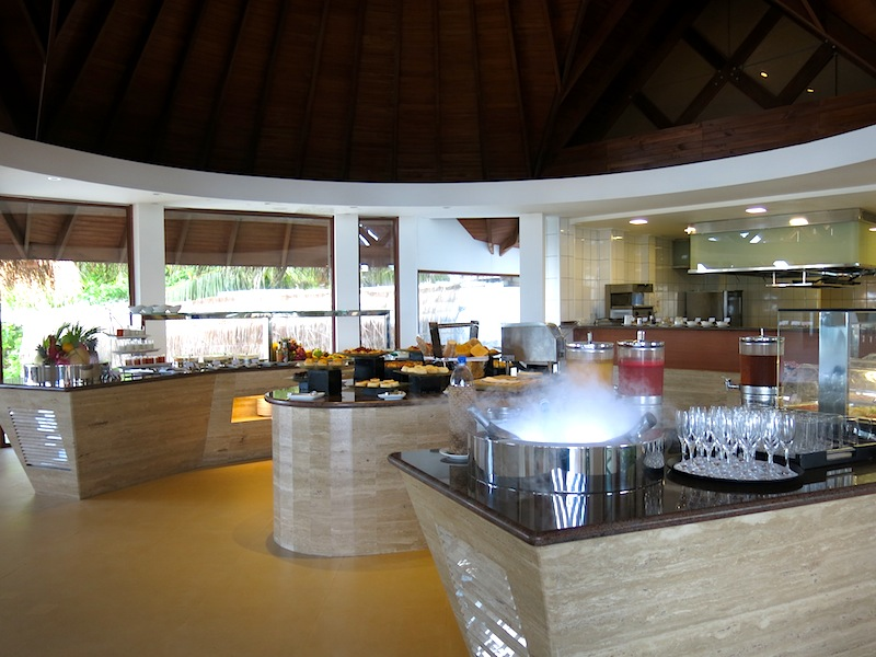 Baros Maldives Lime Restaurant Interior
