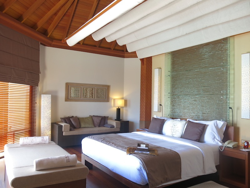 Baros Water Villa Interior