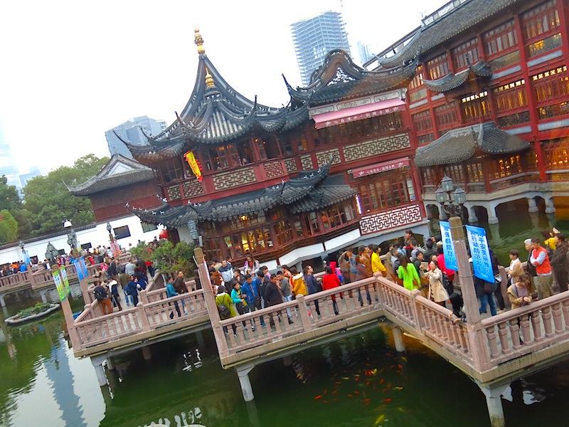 Yuyuan Garden Jiu Qu Qiao