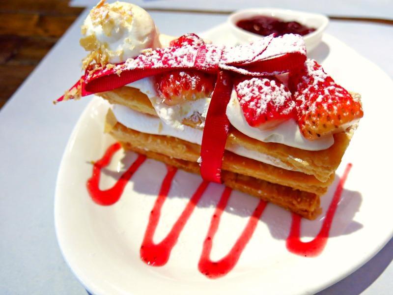 Mr Nice Cafe Strawberry Napoleon Cake 2